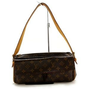 Auth Louis Vuitton Viva Cite Mm Shoulder #2928L21